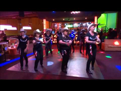 PICNIC POLKA par le groupe animation des COWBOYS hat DANCERS