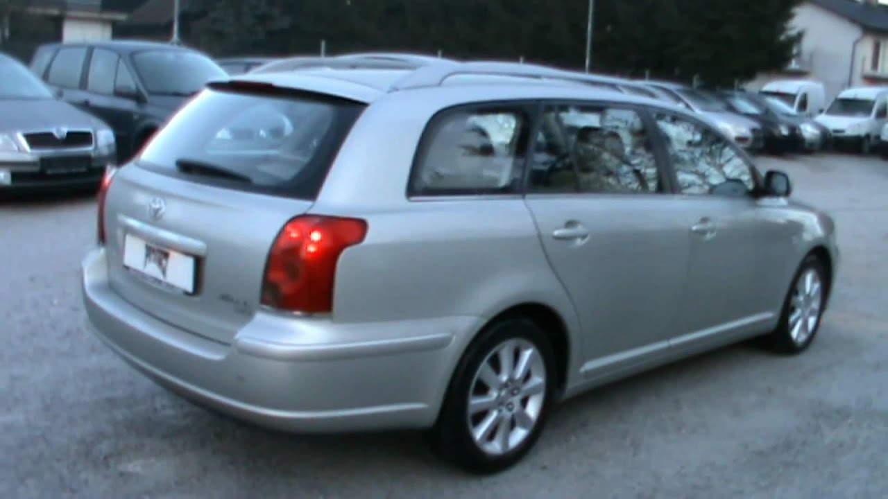 2005Toyota Avensis W G 2 0 D 4D SOL Full Review Start Up Engine