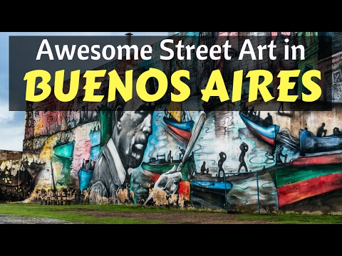 THE STREET ART IS MIND BLOWING!!! - Buenos Aires, Argentina
