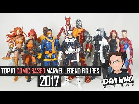 Top 10 Marvel Legends 2017 (Comic Based)