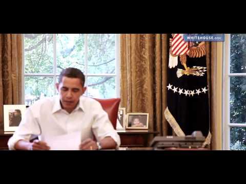 Barack Obama dedication