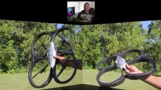 AR Drone Controlled Helicopter