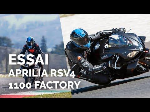 Essai Aprilia RSV4 1100 Factory (2019)