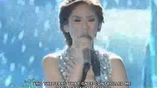 Sarah Geronimo sings Frozen's 'Let It Go' on ASAP stage