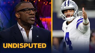 Cowboys' offensive rankings prove that team has 'underachieved' — Shannon Sharpe | NFL | UNDISPUTED