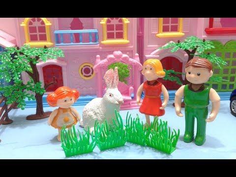 ملك تصطاد أرنب من الحديقة !! يوميات ملوكة