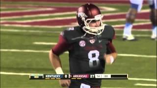 10/13/2012 Kentucky vs Arkansas Football Highlights