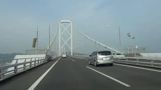 西瀬戸自動車道(s1):西瀬戸尾道IC(入口)~因島北IC(出口)[尾道市]