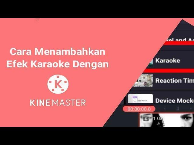 Cara Membuat Teks Karaoke dengan KineMaster