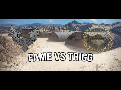 World of Tanks | FAME vs TRIGG | Stronghold [Advances]