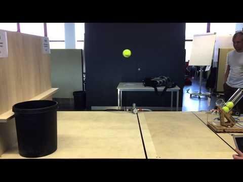 HSLU PREN Team 24 Autonomes Ballwurfgerät