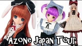 JAPANESE ANIME DOLL SHOP TOUR AZONE AKIHABARA