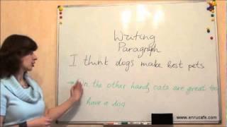 Письмо (ЗНО, англійська): Параграфи 2, відео урок