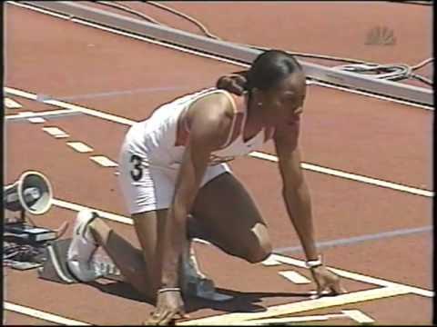 2003 US Championships Women's 400m - Sanya Richards 18yrs old
