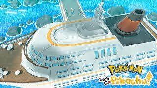 Pokémon Let's Go Pikachu & Eevee - Gameplay Walkthough Part 9 - S.S. Anne