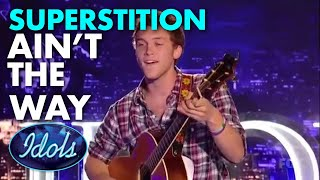 PHILLIP PHILLIPS AUDITIONS WITH SUPERSTITION | Idols Global