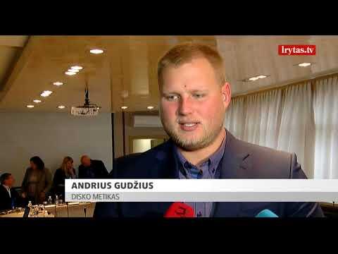 Pasaulio čempionas Andrius Gudžius pagerbtas gimtajame Kaune