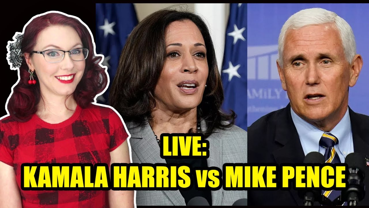 LIVE: Kamala Harris vs Mike Pence