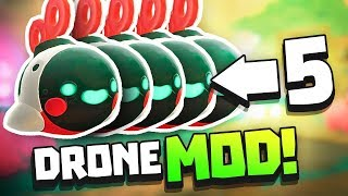 UNLIMITED DRONES WITH DRONE MOD! - Slime Rancher Drones Update - Automatic Update