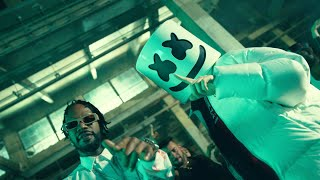 Marshmello x Eptic - HIṪTA (Feat. Juicy J) [Official Music Video]