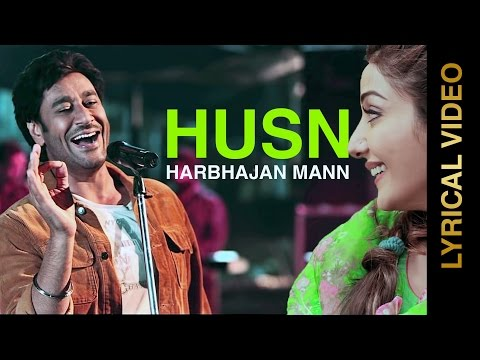 LYRICAL VIDEO | HUSN - THE KALI | HARBHAJAN MANN feat. TIGERSTYLE | New Punjabi Songs 2015