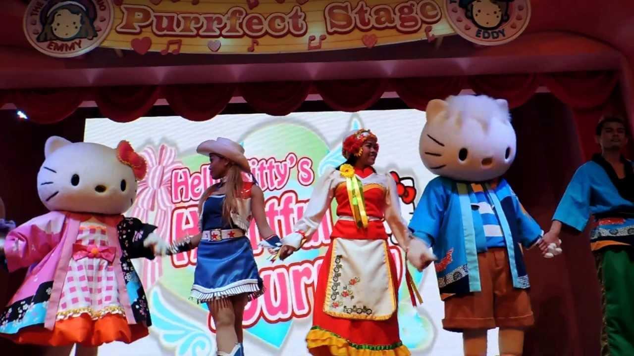 Hello kitty town puteri harbour family theme park johor bahru malaysia -  Hello Kitty S Heartful Journey At Sanrio Hello Kitty Town Youtube