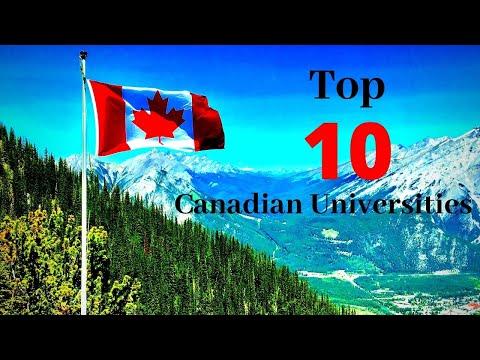 Top 10 Universities In Canada 2020