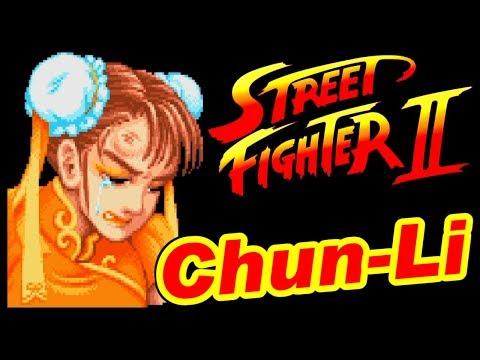 [関節痛] 春麗(50歳) - STREET FIGHTER II / ストリートファイターII [初代ストII]