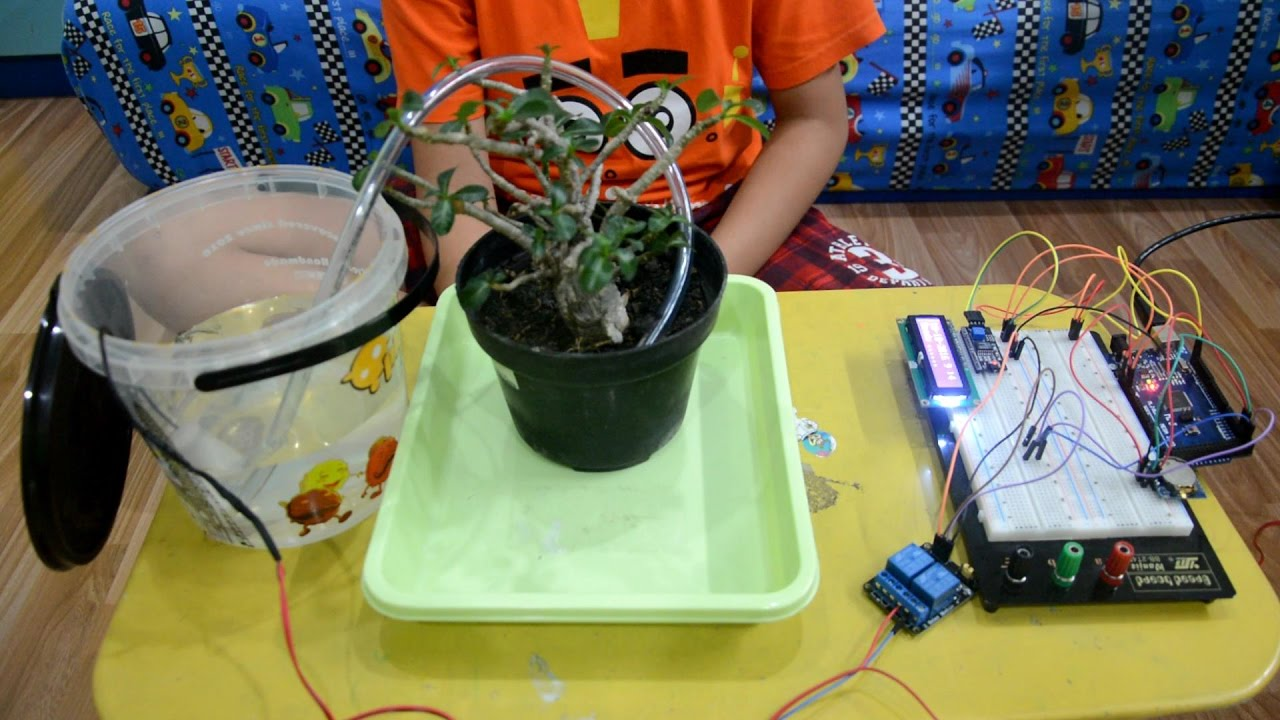 Arduino Time Based Automatic Plant Watering System Youtube