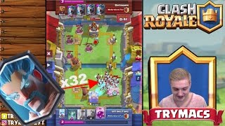 WINTER IS COMING! | SO MANY ICE WIZARDS! | NEW WORLDRECORD! | CLASH ROYALE DEUTSCH