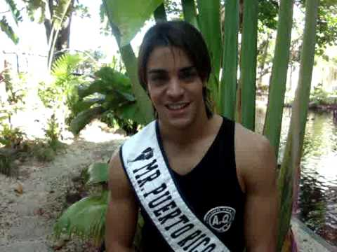 MISTERS OF PUERTO RICO 2009 - MISTER PUERTO RICO MODEL INTERVIEW WITH CRITICAL BEAUTY