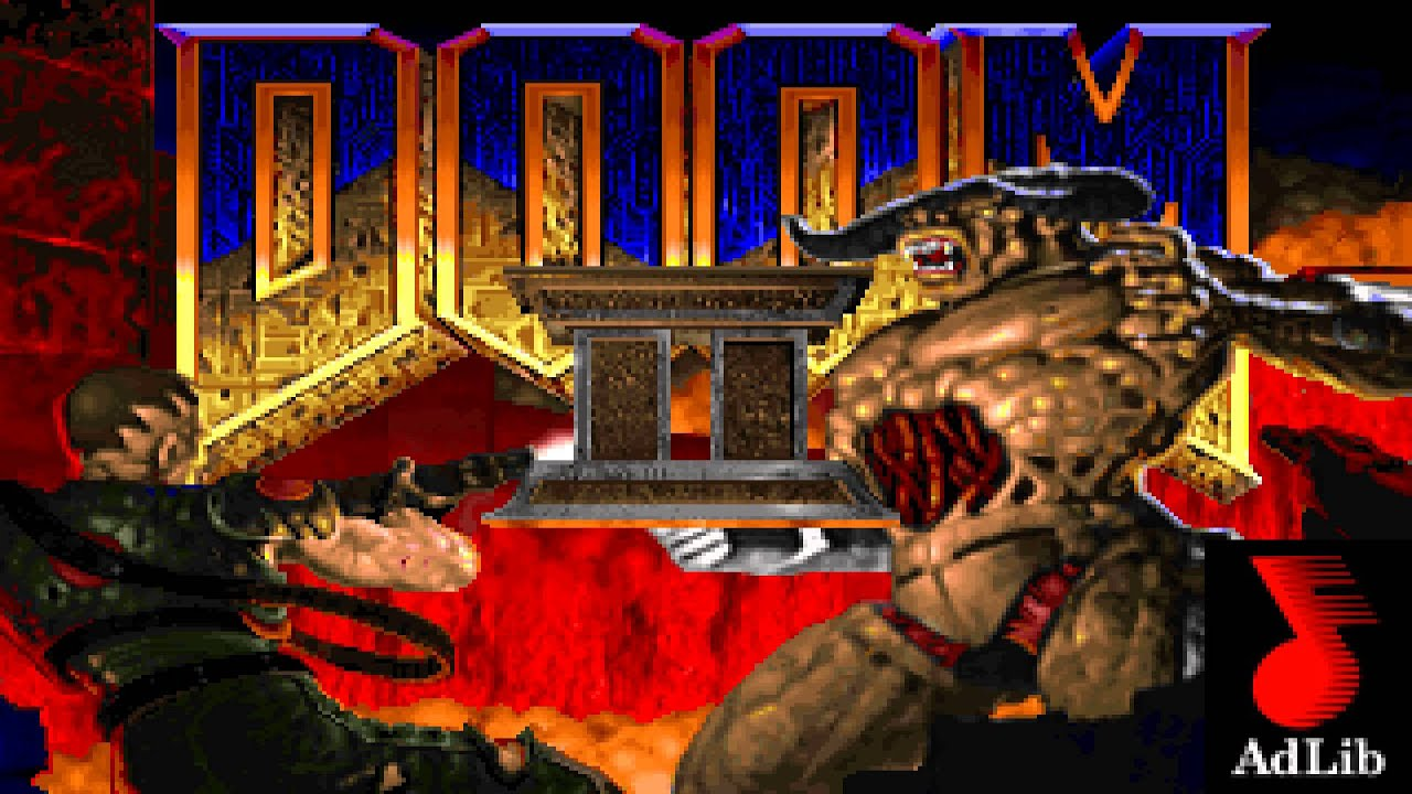 Doom 2 soundtrack - AdLib / OPL2 / DOS version