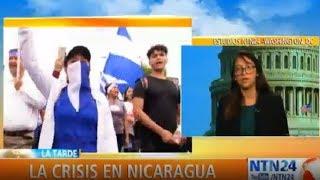 """""""No prevemos una intervención de tipo militar de EE. UU. en Nicaragua"""""""