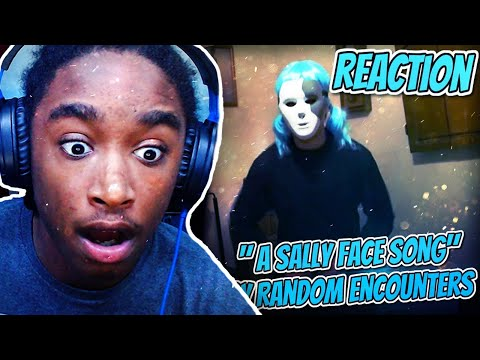 Amiri React To: STRANGER THINGS HAVE HAPPENED: A Sally Face Song (by Random Encounters)