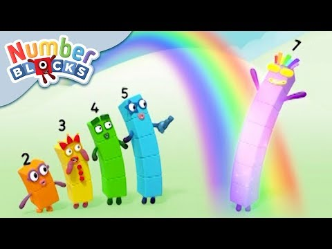 Numberblocks - Rays of Sunshine!   Learn to Count