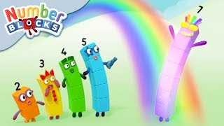 Numberblocks - Rays of Sunshine! | Learn to Count