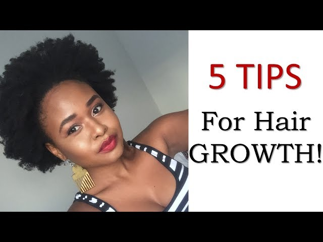 5 TIPS | For Hair Growth