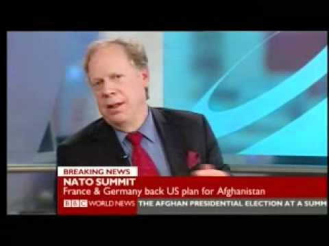 NATO Summit 2 of 9 - BBC World News Reports 2009