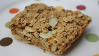 Peanut Butter Granola Bar Recipe