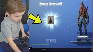 *5 YEAR OLD KID* UNLOCKS NEW MAX TIER 100