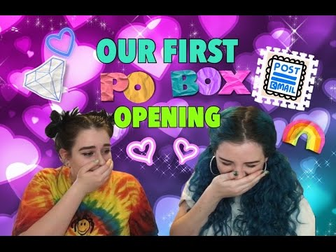 WE'VE GOT MAIL! | OUR FIRST P.O. BOX OPENING?!?!
