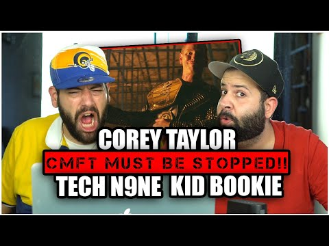 ROCK WITH US!! Corey Taylor - CMFT Must Be Stopped (feat. Tech N9ne & Kid Bookie) *REACTION!!