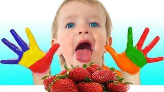 Lave as mãos - Canção Infantil   Música para crianças de Katya e Dima