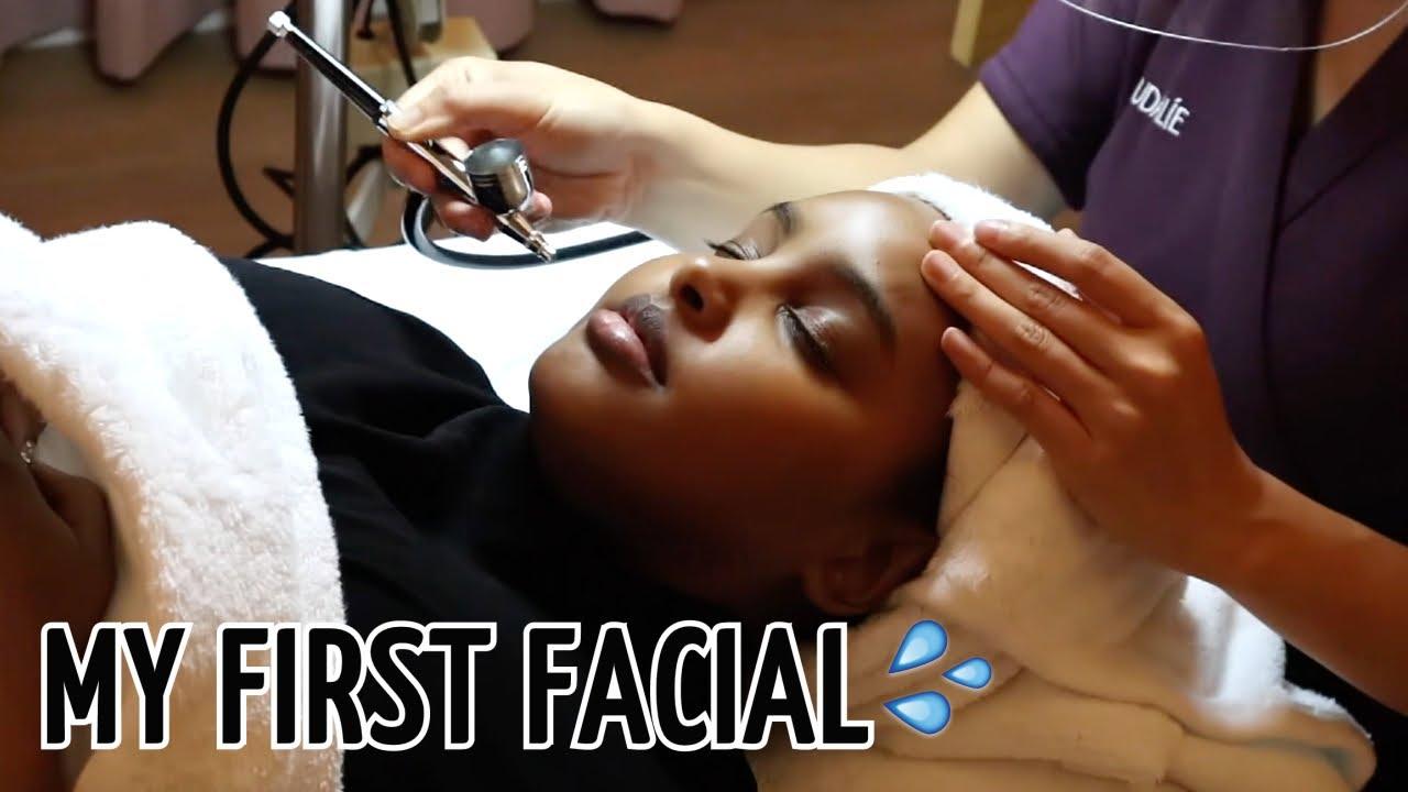 MY FIRST FACIAL EVER!!🧖🏽♀️ | Jasmine Egal