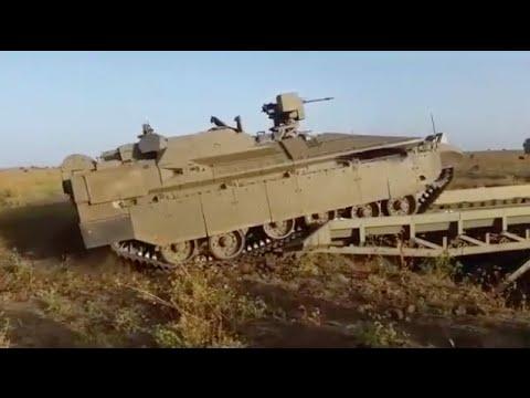 Namer Combat Engineering Vehicle (CEV) under Operational Evaluation