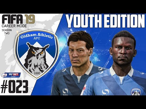 Fifa 19 Career Mode  - Youth Edition - Oldham Athletic - Season 2 EP 23