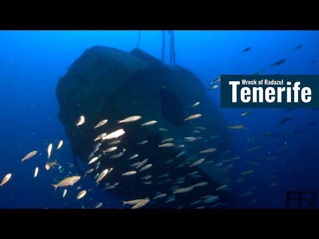 Wreck Diving at Radazul Tenerife