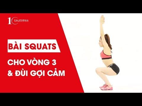 Workout #12 - Bài tập cho vòng 3 và đùi gợi cảm
