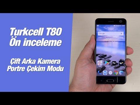 Turkcell T80 kutu açılışı ve ön inceleme videosu