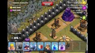 "Nivel 50 ""Torres Sorbete"" - Mapas Un Jugador - Clash Of Clans Gameplay"